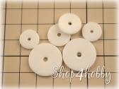 Диски пластиковые 10-25 мм
