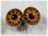 Глаза стеклянные unic 20 мм