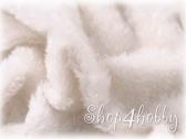 Мохер белый 25 мм