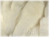 Плюш «натюр» 30 мм (белый)
