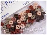Пуговицы цветные «мини» 6 мм (75 шт)