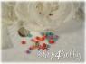 Пуговицы кукольные «цветок» (20 шт)