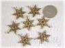 Шармик «Снежинка» (золото)