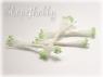 Тычинки светло-зеленые 1 мм