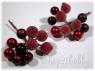 Ягодки декоративные «клюква в сахаре»